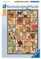 Vintage Flora 500pc Puzzle - Box