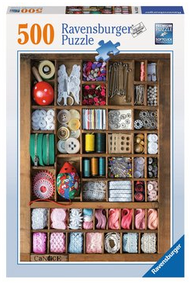 The Sewing Box 500pc Puzzle - Box