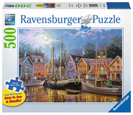 Ships Aglow 500pc Large Format Puzzle - Box