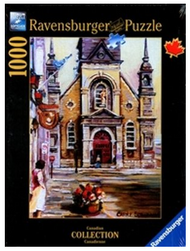Church Bonsecours 1000pc Puzzle - Box