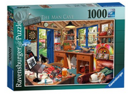 The Man Cave 1000pc Puzzle - Box
