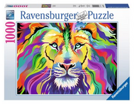 King of Technicolor 1000pc Puzzle - Box