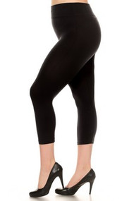 Capri Plus Legging Black