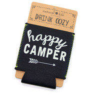 Happy Camper Drink Cozy