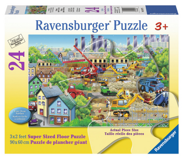 Busy Building 24pc Floor Puzzle - Box
