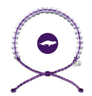 4Ocean Bracelet - Hawaiian Monk Seal Purple