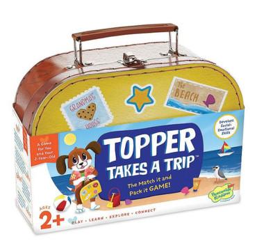 Topper takes a trip box