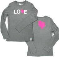 Ladies Love Michigan Long Sleeve Tee
