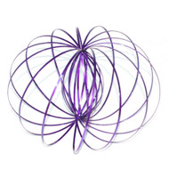 Purple Kinetic Flow Ring