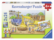 Construction Site 2x24 pc puzzle