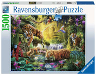 Tranquil Tigers 1500 pc puzzle