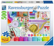 Needlework Station Large Format 500 pc Puzzle