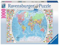Political World Map 1000 pc Puzzle