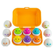 Sort & Squeak Eggs- Lamaze