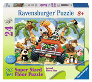 4-Wheeling 24pc Floor Puzzle by Ravensburger