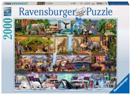 Wild Kingdom Shelves 2000 piece puzzle