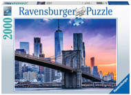 Skyline New York 2000 piece puzzle
