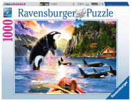 Close Encounters Orca 1000 piece puzzle by Ravensburger