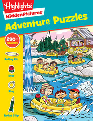 Adventure Puzzle and sticker book by Highlights