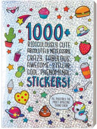 Ridiculously Cute Stickers Book