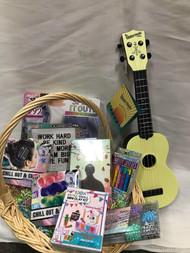 Teenage Girl Crafty Easter Basket