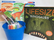 Dinosaur Easter Basket