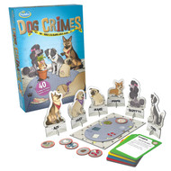 Dog Crimes game by Think Fun