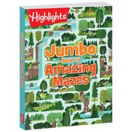 Jumbo book of Amazing Mazes by Highlights
