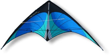 Nexus Stunt Kite - Blue