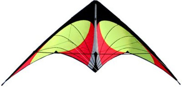 Nexus Stunt Kite - Yellow