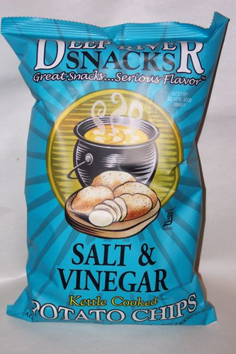 Salt Amp Vinegar Kettle Cooked Potato Chips 5oz