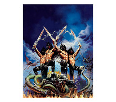 Giclee Print Gods Of War w/o Girls