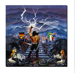 Giclee Print Kings Of Metal MMXIV - Warrior