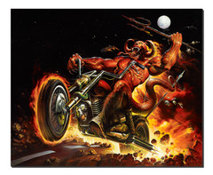Giclee Print Hell on Wheels