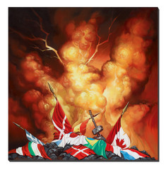 Giclee Print Kings of Metal - Back
