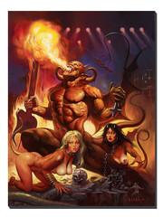 Giclee Print Hell on Earth III