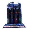 "Eagle Torch 7"" Soft-Touch Pen Torch Lighters 12pk Display."