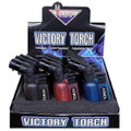 Victory Torch Lighter w/ Cap 12pk/Display.