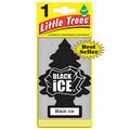 Little Tree Air Fresheners *BLACK ICE* - 24 Pack.
