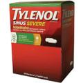 Tylenol Sinus Severe, 50 Pouches of 2 Caplets