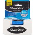 ChapStick (Moisturizer, 0.15 Oz) Lip Balm Tube-12 Pack.