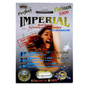 IMPERIAL PERFECT PLATINUM 5000 Male Sexual Performance Enhancement Pill, 24ct. Box.