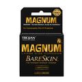 TROJAN MAGNUM BARESKIN CONDOMS 3CT - 6PC (BLACK)
