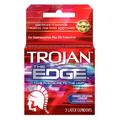 TROJAN THE EDGE CONDOMS 3CT - 6PC