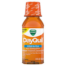 DayQuil Cold & Flu Relief Liquid 8 fl oz