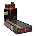 """RAW BLACK - 1 1/4"""" - 24 BLACK Rolling Papers 24/Unit 1.25 (1 1/4) Size Classic"""