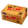RAW 1 1/4 Size Pre Rolled Cones 12 Pack Display Case (32 Cones Per Pack=384 Total Cones)
