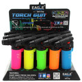 EAGLE TORCH LIGHTER 4 INCH SIDE TORCH - NEON EDITION - 15CT/DISPLAY #PT101N