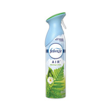 Febreze Air Freshener and Odor Eliminator Spray, Morning and Dew - 8.8oz. (Pack of 6)
