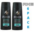 AXE Body Spray Deodorant *COLLISION* 150ML Pack of 6.